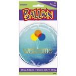 """Foil Balloon - Welcome Balloons - 18"""""""
