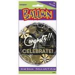 """Foil Balloon - Congrats!! Celebrate! - 18"""""""