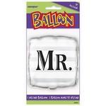 """Foil Balloon - Mr. Square - 18"""""""