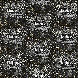 """Wrapping Paper - Happy Birthday (30""""X5')"""