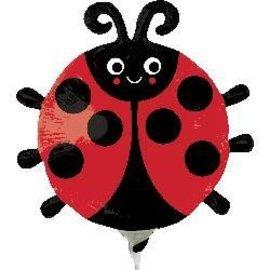 Foil Balloon-Ladybug-18''x19''