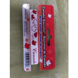 Canada Souvenir-Wristband White