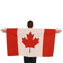 "Canada Flag Cape - 35.5"" x 59"""
