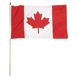 Flag Canada on a Stick