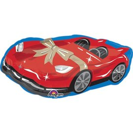 Foil Balloon - Supershpe - Car-17inx36in