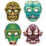 Alien Masks - 4 pk