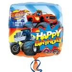 Foil Balloon-Blaze Happy Birthday