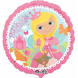 Foil balloon-Garden Birthday Princess