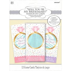 Scratch Card-Will You Be My Bridesmaid