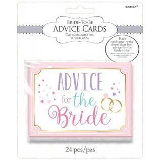 Advice for the Bride Cards-24pk