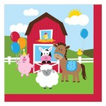 Beverage Napkins-Farmhouse Fun-18pk-2ply