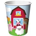 Cups-Farmhouse Fun-Paper-8pk-9 oz