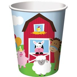 Cups-Farmhouse Fun-Paper-8pk-9 oz
