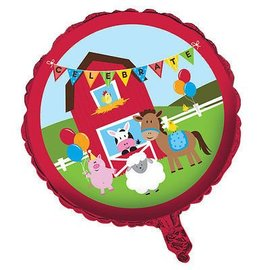 Foil Balloon- Farmhouse Fun-18''