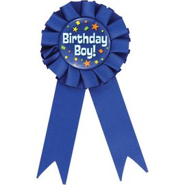 Award Button Birthday Boy