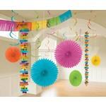 Decorating Kit- Foil and Paper- Multi Colour- 18pcs