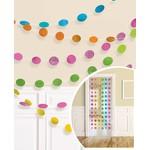 Dot Garlands-Tropical Colours- 6pcs