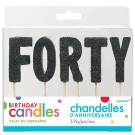 Candles-Forty