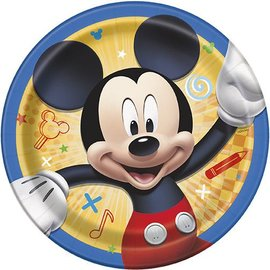 Beverage Paper Plates-Mickey Mouse-8pk-6 3/4""