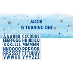 Banner - Personalizable One Little Star Blue