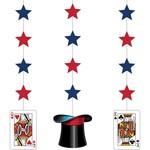 Hanging Cutouts - Magic Party-36''-3pk