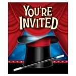 Invitations-Magic Party-8pk