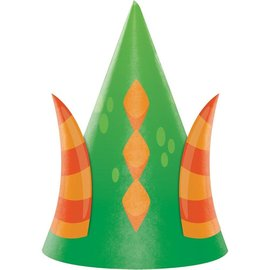 Hats - Dragon Party-8pk