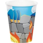 Cups - Dragon Party-8pk-Paper