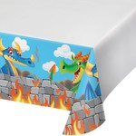 Tablecover - Dragon Party-54''x102''-Plastic