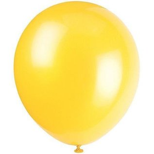 Balloon-Latex-Sunburst Yellow-9''-144pk