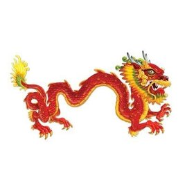 Jointed Cutout-Chinese New Year Dragon-1pkg-6ft