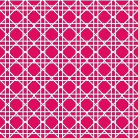 Napkins-BEV-Cane Magenta-24pkg-3ply(Discountinued/Final Sale)