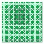 Napkins-BEV-Cane Emerald Green-24pkg-3ply (Discountined/Final Sale)