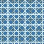 Napkins-BEV-Cane True Blue-24pkg-3ply