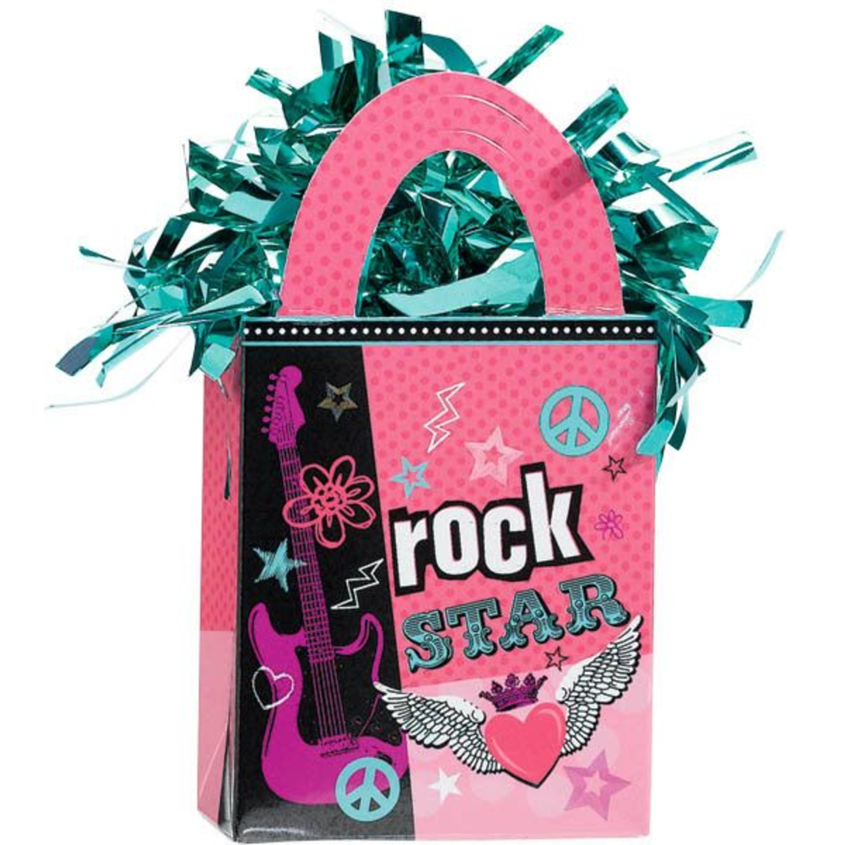 Balloon Weight-Rocker Girl-5.7oz