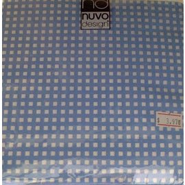 Napkins-LN-Checkered Blue & White-20pkg-3ply(Discountinued/Final Sale)
