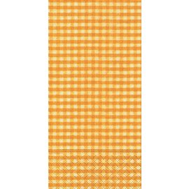 Napkins-Buffet-Vichy Yellow-16pkg-3ply- Discontinued
