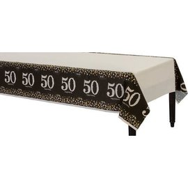 Table cover - Sparkling Celebration 50-Plastic-54'' x102''