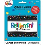 Advice cards - Offically Retired