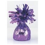 "Balloon Weight-Foil-Lavender-1pkg-4.5""x2.25"""