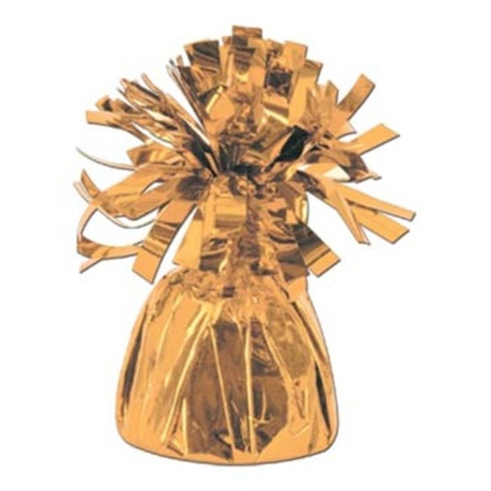 Balloon Weight-Metallic-Copper-1pkg-6oz