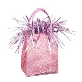 """Balloon Bag Weight-Pastel Pink-1pkg-3""""x2.5"""""""