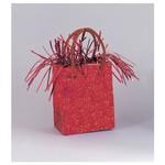 """Balloon Bag Weight-Red-1pkg-3""""x2.5"""""""