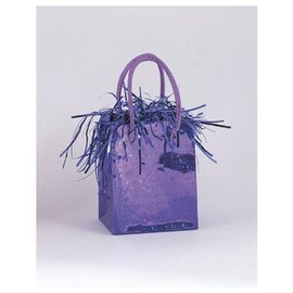 "Balloon Bag Weight-Purple-1pkg-3""x2.5"""