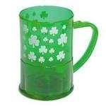 Beer Mug-Plastic-St. Patrick's Day-1pkg