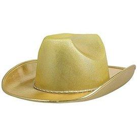 Cowboy Hat-Gold-Fabric