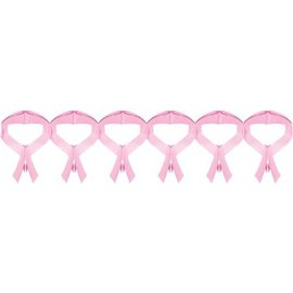 Garland-Pink Ribbon-12Ft-Paper