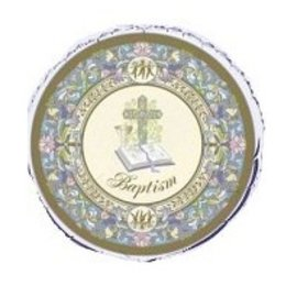 Foil Balloon - Baptism Cross - 18""
