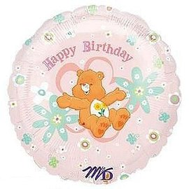 Foil Balloon - Care Bears Happy Birthday - 18""