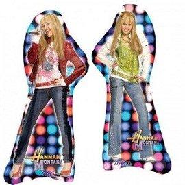 """Foil Balloon - Jumbo - Hannah Montana - 35""""x14"""""""